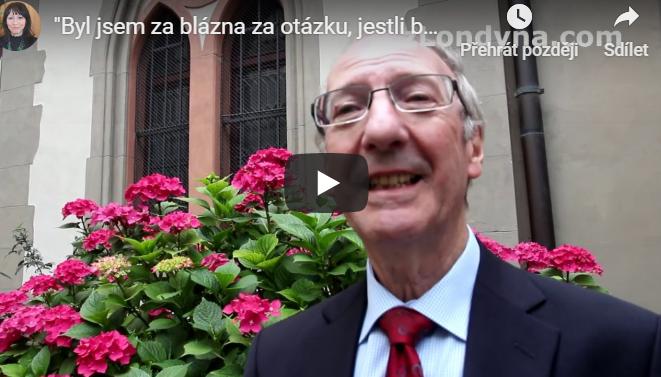 """""""Byl jsem za blázna za otázku, jestli byl v Ostravě před válkou antisemitismus,"""" říká David Lawson"""