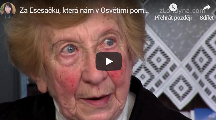 """""""Za esesačku, která nám v Osvětimi pomáhala, jsme se u sovětské armády po osvobození přimluvily"""""""