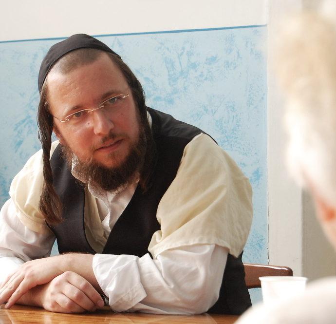 Rabbi Reuven Grosz, a Carlsbad honorary rabbi